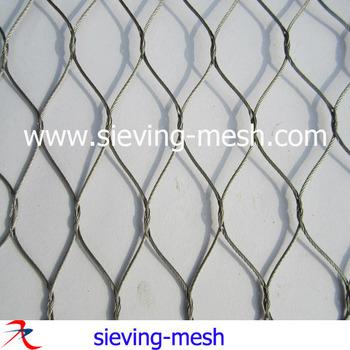 Stainless Steel 304 Ferruled Rope Wire Mesh - Buy Stainless Steel ...