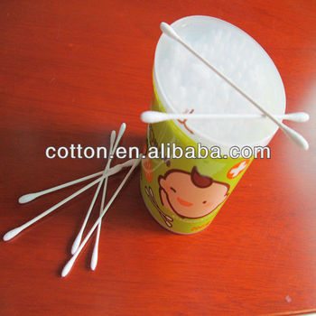mini cotton buds for baby care