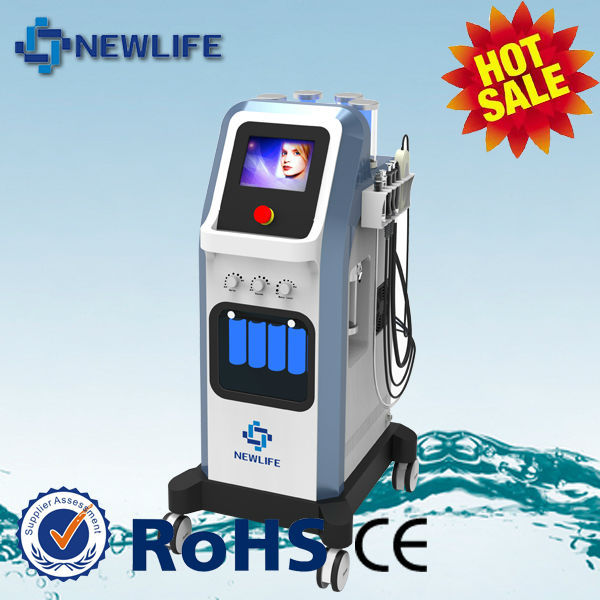 Beauty salon equipment wholesale face spa machine Oxygen jet injector BIO eyes lifting water diamond dermabrasion CE -NL-SPA10