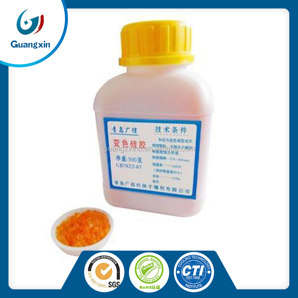 indicating color change orange silica gel beads price