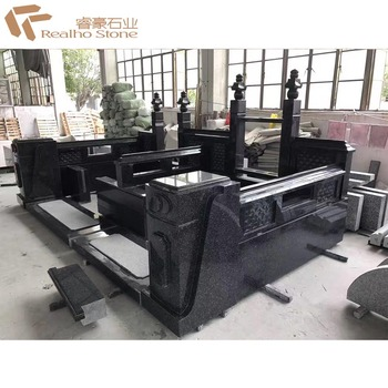 Factory Price China Black Granite Monument/Tombstone/Gravestone