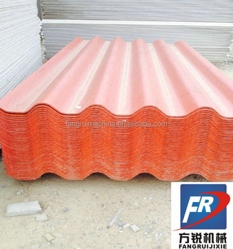 Automatic Asbestos Tile making line,roof tile making line,glass tile production line