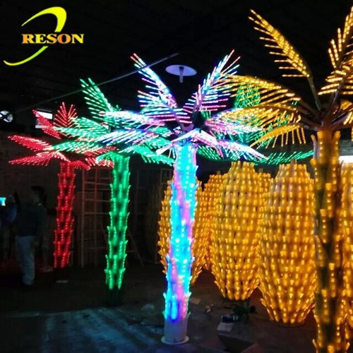 The most popular products color changing leave palm tree dubai