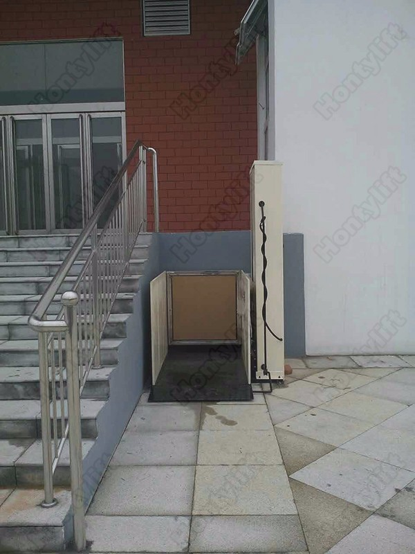 Outdoor Vertical One Man Electric Wheelchair Lift Elevators Used For Homes Buy Electric