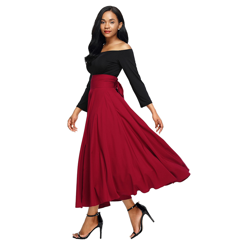 Women's Clothing Conscientious One Piece Dress 2019 Spring Summer Fashion Plus Size Dresses Women Beading Button Vintage Print Midi Party Green Red Dress Xxxxl Sales Of Quality Assurance