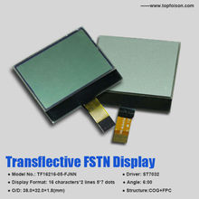 TF16216-05-FJNN TN/STN/FSTN/OLED 16characters*2lines 5*7 dots Display LCD Display 6:00 Viewing Angle