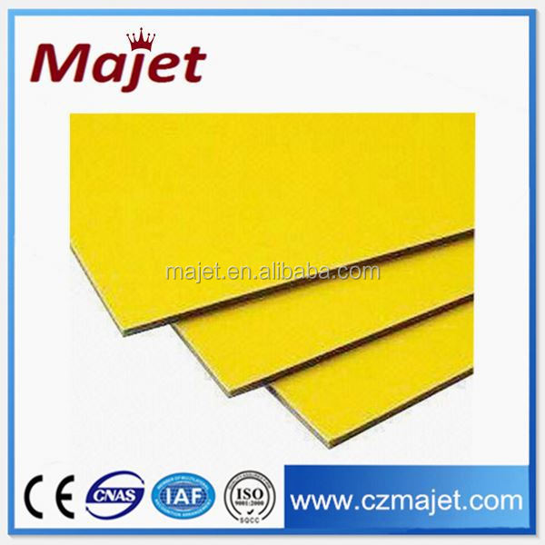 ACP fire retardant mineral core aluminum board ceiling tiles