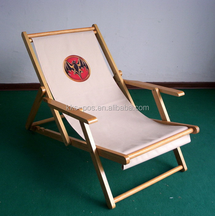 Teak beach chairs stunning found it at wayfair folding for Antigua wicker chaise