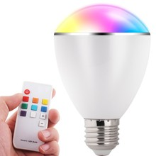Wholesale Bluetooth Speaker Bluetooth 6W LED Bulb light Remote Control and Bluetooth music playing led light bulb