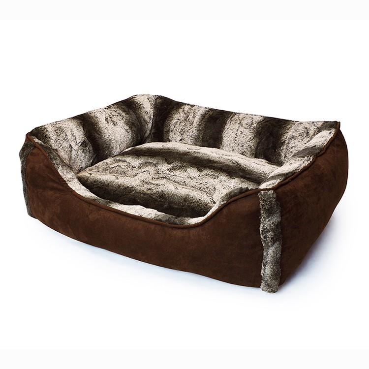Rosey Form Brand wholesaler luxury Fur pet bed for <strong>dog</strong> and cats