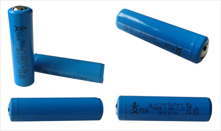 Gute preis icr 18650 3,7 v 2600mah Lithium-Ion akku für digitale produkte