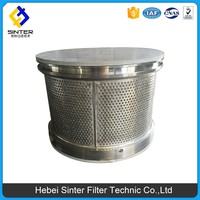 Turbine oil filter element definition Pressure Fuel Filter for Marine Excavator