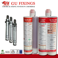 Quality concrete compressive strength m10 chemical anchors fixing bolts into concrete chemfix anchors