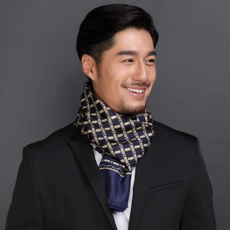 Factory New Styles Classic Men Stripes Fashion Wrinkle-free Weave Twill <strong>Scarf</strong>