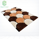 Korean carpet modern round rug comfortable tufted carpet