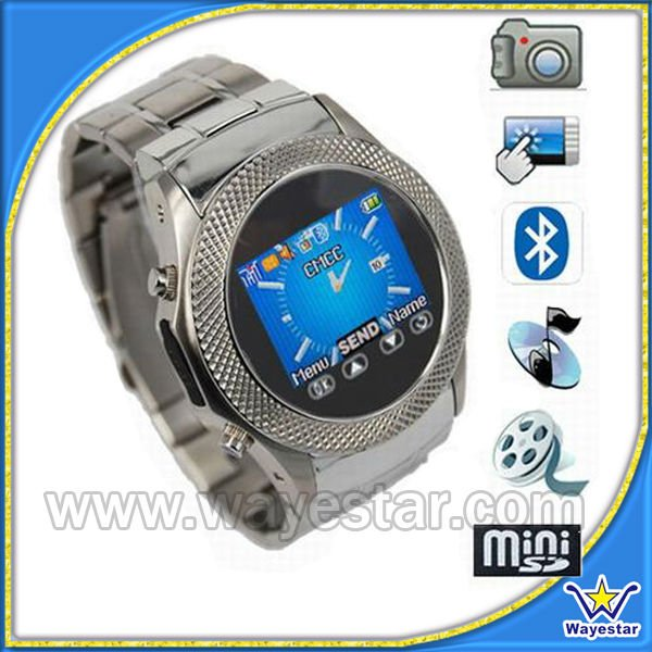 Touch Screen Wrist watch mobile phone