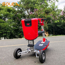 Luxury Comfortable New Design 3 Wheels Folding Scooter For Disabled People