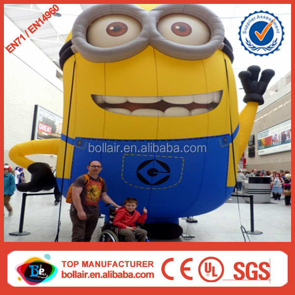 New design outdoor large christmas inflatable minion