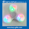 Hot toy Flashing led fidget spinner