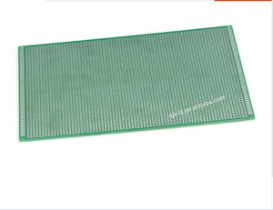 Double-sided spot-sprayed PCB quality fiberglass board with thickness of  15*20cm