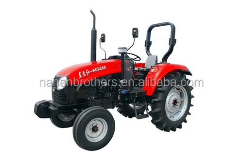 YTO-MG650 65hp 2wd dubai second hand small garden tractor loader manual