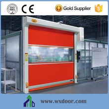 Industrial used high speed roller shutter plastic PVC door|Roll-up PVC gate shutter