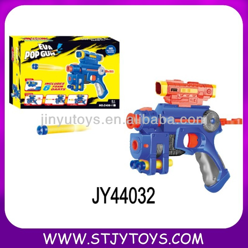 Cool design EVA airsoft target shooting gun toy