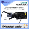 Original Quick 936a Temperature Controlled Professional Smd Soldering Station For Mobile Repair