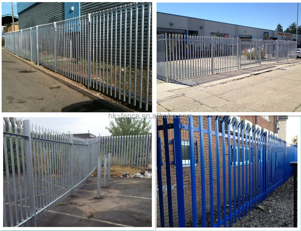 traditional european steel palisade fence view steel palisade fence ht product details from. Black Bedroom Furniture Sets. Home Design Ideas