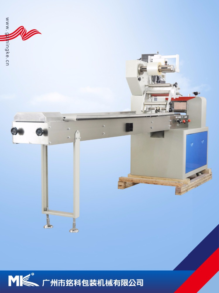 High speed Water holder , Dog bite automatic Material tray automatic pillow packing machine