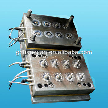 liquid silicone rubber injection mould for baby nipple, LSR baby nipple injection mould manufactuer