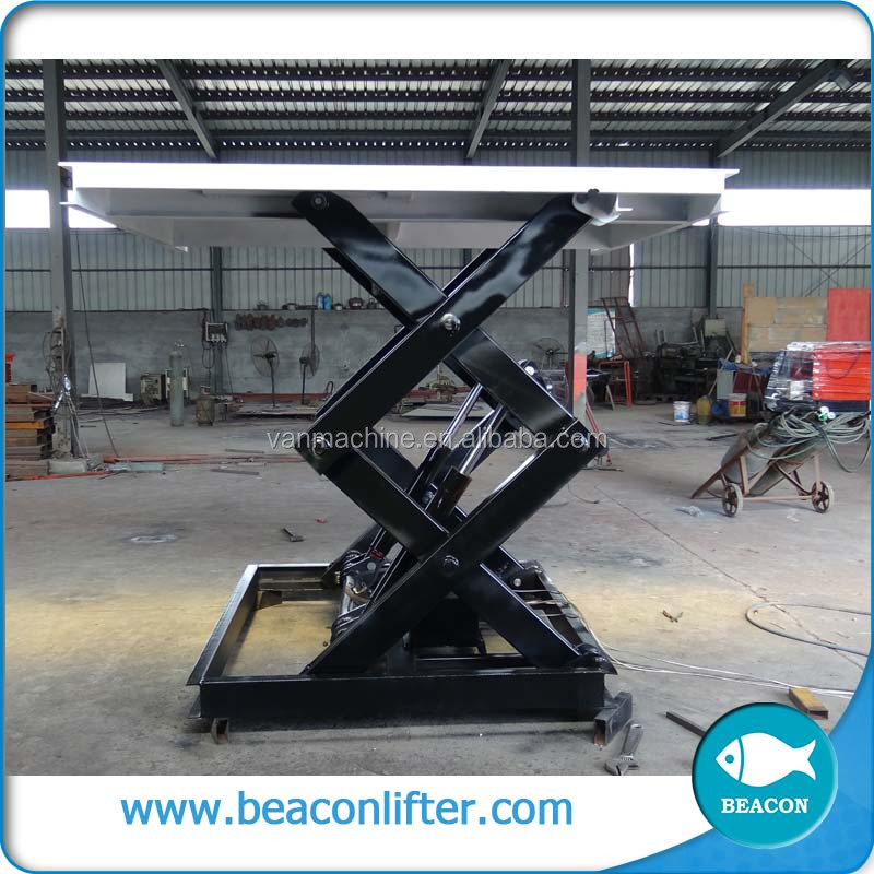 best selling inground lift high reach scissor lift table