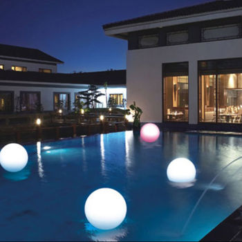 led illuminated swimming pool ball led solar garden ball lighting buy led illuminated swimming