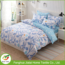 High quality 100%Cotton jacquard children sheets bed bedding set