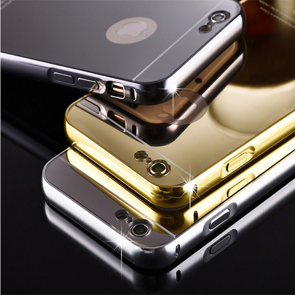 various colors 89201 421e8 24k Gold Aluminum Bumper Metal For Iphone 6 6s Plus Mirror Case Cover - Buy  24k Gold For Iphone 6 6s Plus Mirror Case,24k Aluminum Bumper Metal Case ...