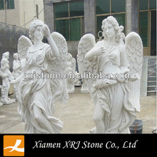 China Weiß Marmor <span class=keywords><strong>Engel</strong></span> <span class=keywords><strong>Statue</strong></span>