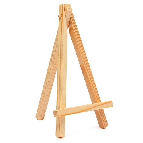 916cm Mini Wood Artist Easel Wedding Table Calendar Number Place Name Card Stand Display Holder