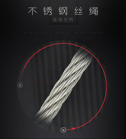 Diameters 4mm 7*7 stainless steel wire rope/High Quality Stainless Steel Wire Rope Manufacturer