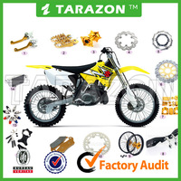 CNC Aluminum Alloy Motorcycle Spare Parts accessories For Suzuki Dirt Bike