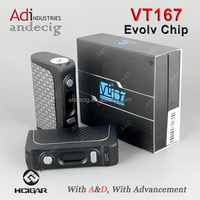 Original/Authentic Hcigar 167W TC Box Mod VT167 with DNA250 chip HCigar VT167 In Stock!