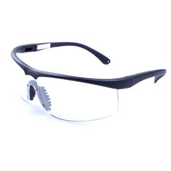wholesale plastic Safety glasses with transparent lens