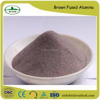 brown fused alumina /brown corundum for abrasives