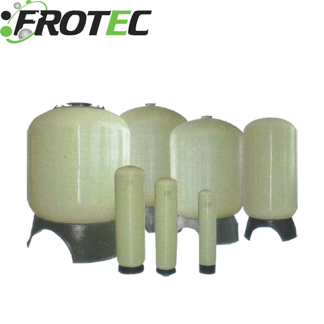 High strength to weight ratio Industrial water filtration frp water softener tank 3072