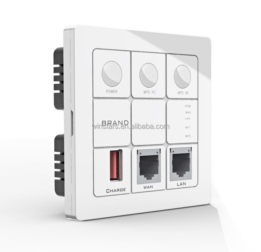 Ac750 In Wall Repeater In Wall Wifi Ap With Power Adapter