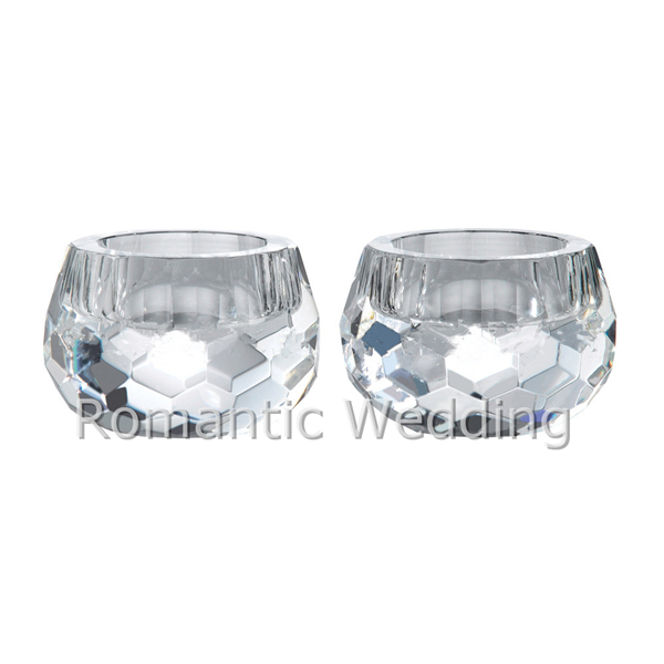 Wonderful Crystal Candle Holders Tealight Candle Holders For Wedding table Decoration Centerpieces