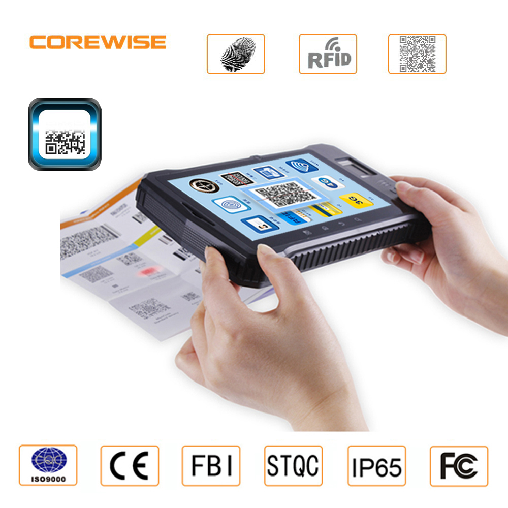 7.0 inch android barcode scanner pda for warehouse