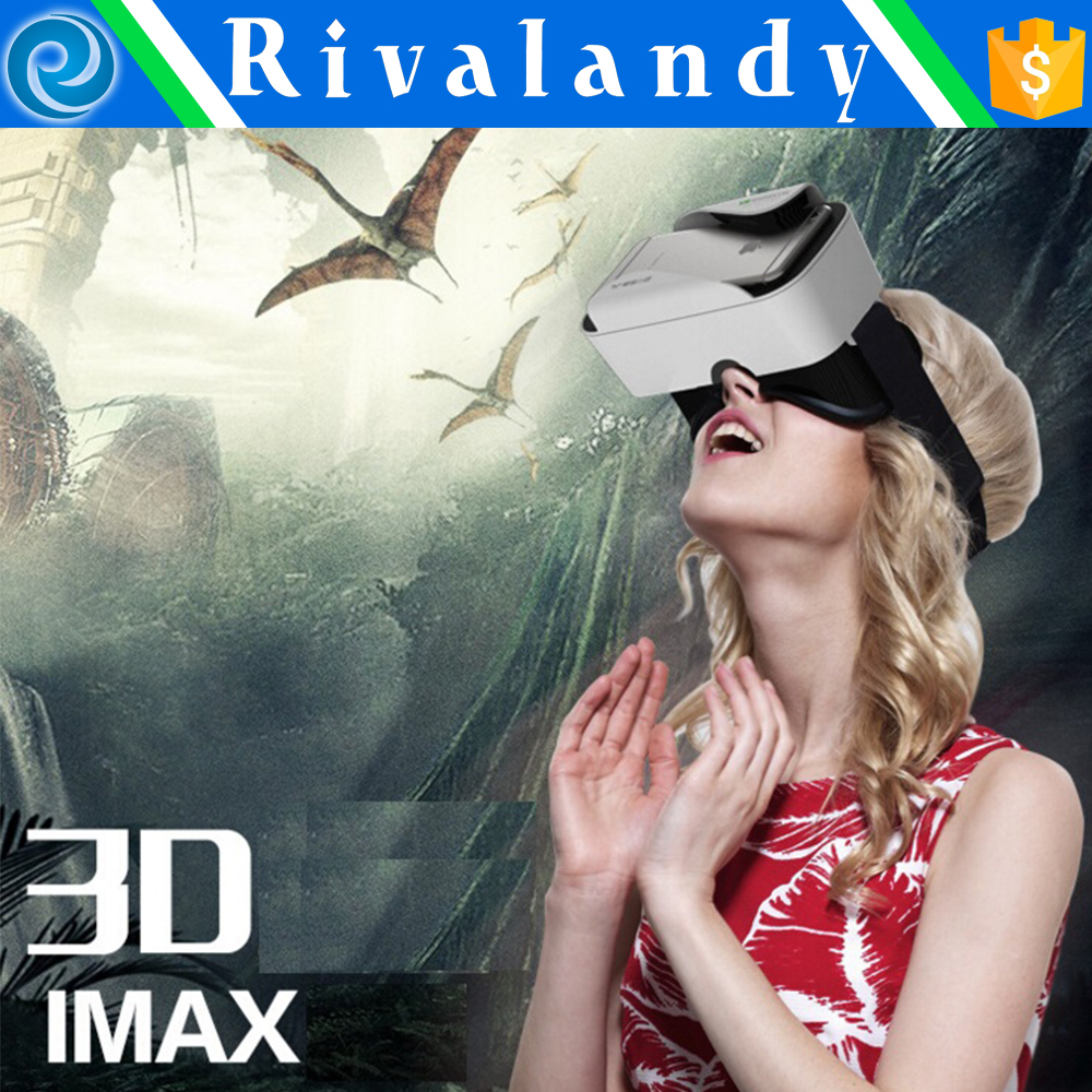 2016 New vr shinecon 3d vr glasses for smartphones watch 3d movie and play 3D games