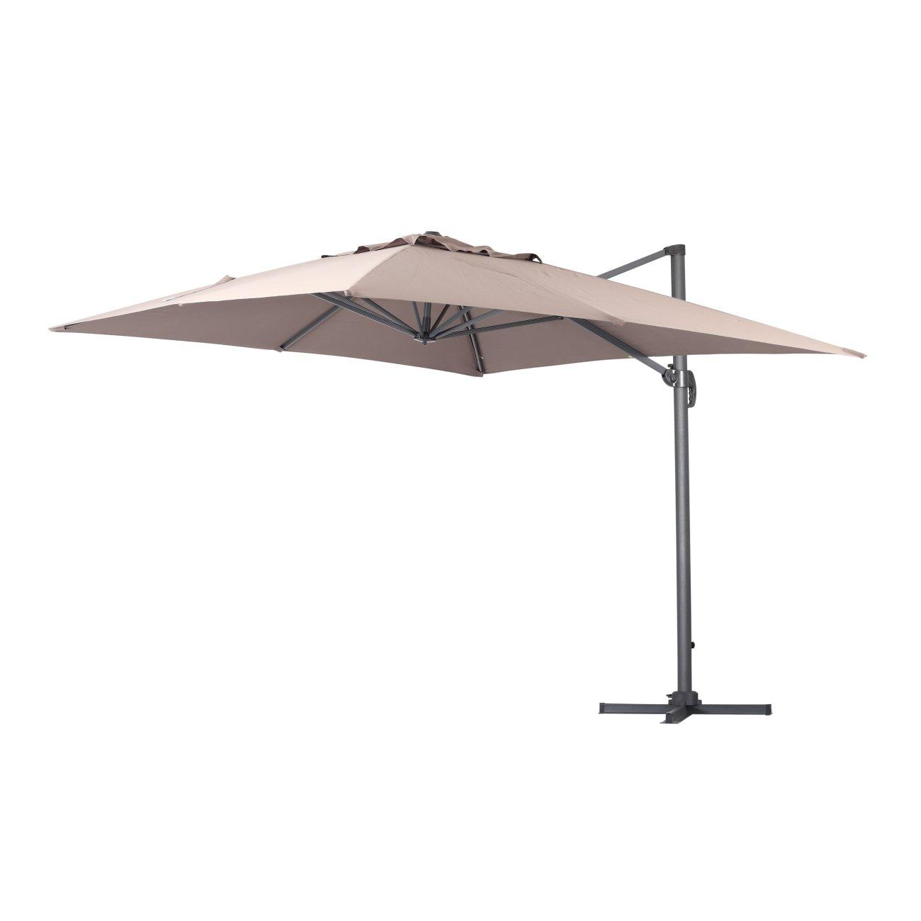 Get Quotations Green Garden Deluxe 10 X Feet Cantilever Offset Patio Umbrella Square Parasol Infinite Tilt Position