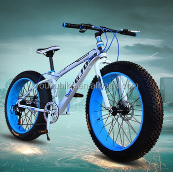 New Oem 26 4 0 New Design Steel Fat Bike Snow Mountain Bike