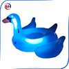 Inflatable Leisure Giant Led Light-Up Swan Ride On Pool Toy